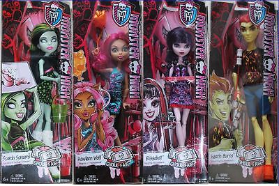 Monster High Ghoul Fair  Monsterfest   Elissabat Scarah Heath
