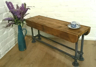 4ft Industrial Scaffold Rustic Vintage Reclaimed Pine Dining Table Seating BENCH