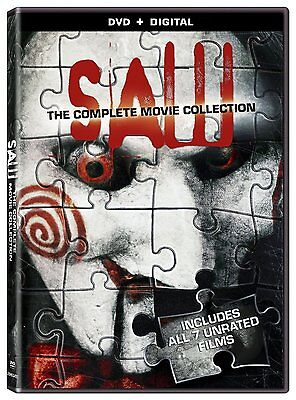 SAW : THE COMPLETE MOVIE COLLECTION 1 - 7  -  DVD - REGION 1 - Sealed
