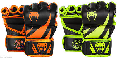VENUM NEON CHALLENGER MMA FIGHT GLOVES MMA Training Sparring