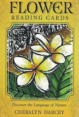Flower Reading Cards - Discover The Language of Nature by Cheralyn Darcey NEW