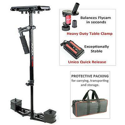 Flycam HD-5000 Stabilizer Steadycam FREE Quick Release Table Clamp fr DSLR Video