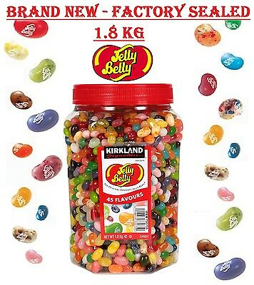 Jelly Belly Beans 1.8Kg Bulk 44 Flavours Original USA Jelly Belly Gourmet Bean