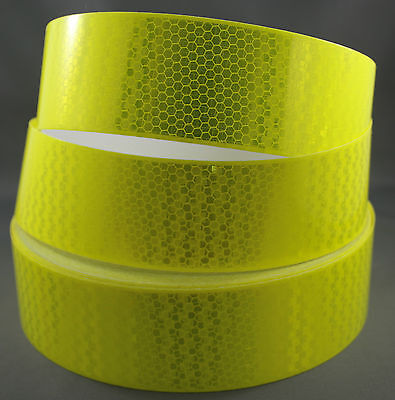 Avery Fluro Yellow Green (T-11513) OmniCube Class 1 Reflective Tape 50mm x 15m