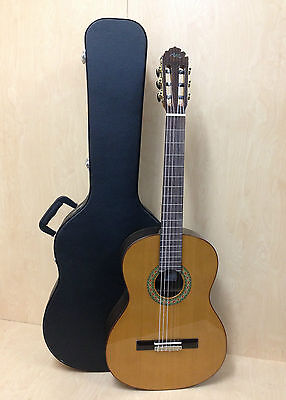 Migule Rosales Solid Cedar Top Spanish Classical Guitar model A + Hard case