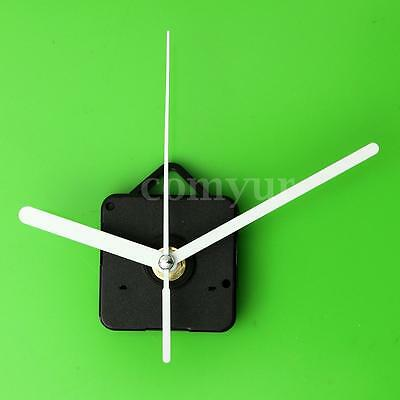 Silent ,DIY Quartz Clock ,Movement Spindle Mechanism Parts Tool ,with White Hand