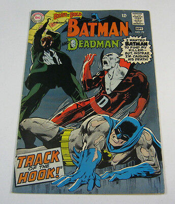 Brave & The Bold #79 Early Deadman!Batman/Neal Adams SILVER AGE DC COMICS 1968