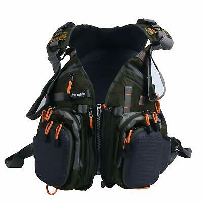 Excellent Fly Fishing Backpack Adjustable Size Fishing Vest Backpack Combo