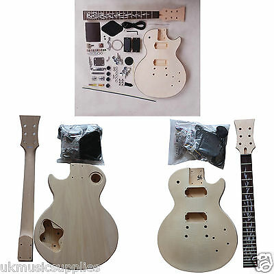 Guitar DIY Kits for LP, ST & Bass Great YOUTUBE HELP Starter Package, HY111