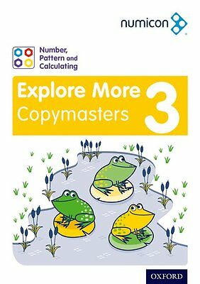 Numicon Number, Pattern and Calculating 3 Explore More Copymasters, Paperback