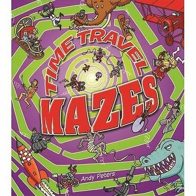 Time Travel Mazes,Andy Peters,New Book mon0000066498