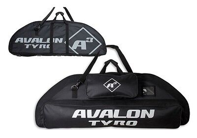 Avalon A3 TYRO Archery Compound Bow Bag Case Heavy Duty,Shoulder Strap & Pockets