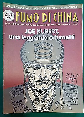 Fumo di China n. 59 Joe Kubert, Sin City FU03