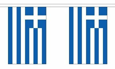 Greece Greek Polyester Material Flag Flags Bunting Various Sizes