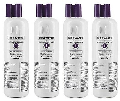 (4) ea Whirlpool  EDR1RXD1 W10295370A 46-9930 Filter1 Refrigerator Water Filter