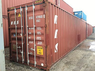 40 Foot Shipping Storage Container Atlanta Georgia