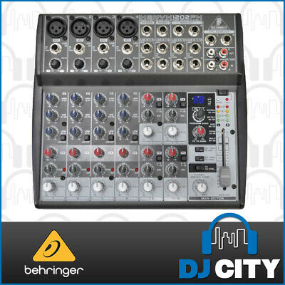 1202FX Behringer 12 Channel PA Mixer with FX Great for Presentations, Karaoke...