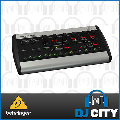 P16-M Behringer16 Channel personal monitor mixer - DJ City