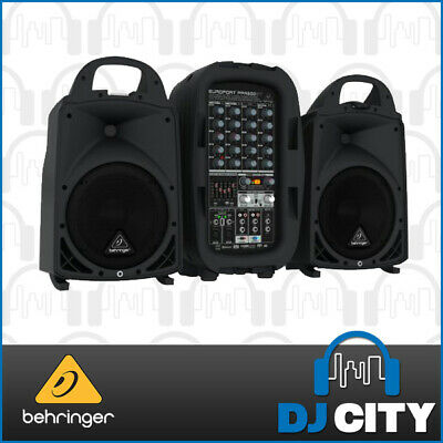 PPA500BT Behringer Europort Portable PA System 500Watt with Bluetooth - DJCITY