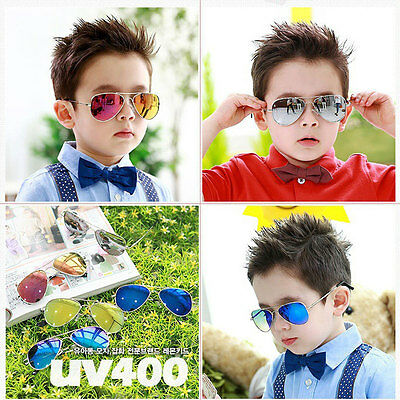 Fashion Baby Boy Girl KidsSunglasses UV400 Glasses Child Cool Goggles Eyewear DA