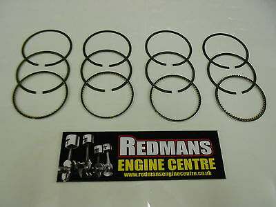 Mitsubishi L200/Warrior 2.5 DID 16 VALVE PISTON RINGS 2006-