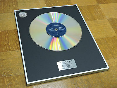 THE POLICE can't stand losing you  DISCO DE PLATINO / PLATINUM DISC