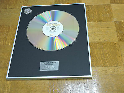 SPICE GIRLS say you'll be there  DISCO DE PLATINO / PLATINUM DISC