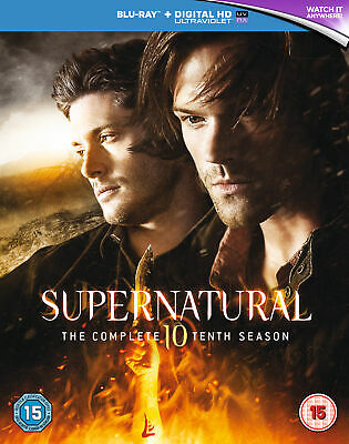 Supernatural - Season 10 [2016] [Region Free] (Blu-ray)