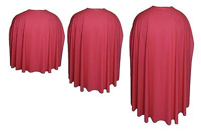 Red Super Hero Action Cape 3 sizes