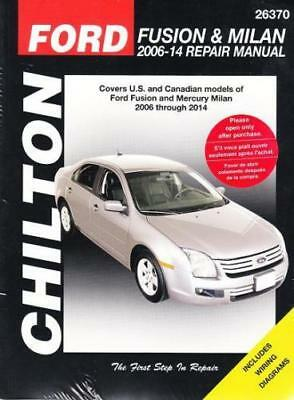 2006 2010 ford fusion mercury milan repair manual owners book rh picclick com Ford Fusion Manual Transmission Review 2010 Ford Fusion Manual