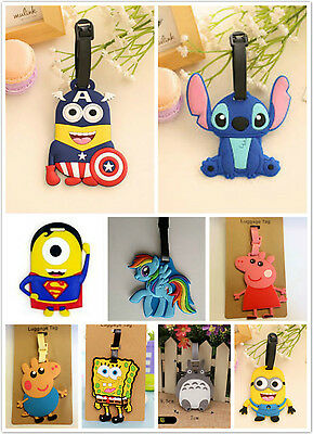 New Colourful Humorous Luggage Tags Novelty Funny Travel Suitcase Accessory
