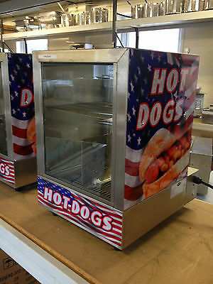 Commercial Hot Dog Steamer and Bun Warmer