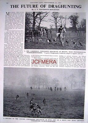 """The Future of DRAGHUNTING"" - 1965 Magazine Article (2-Sided Cutting)"