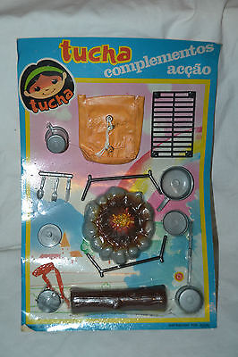 Vintage 1980's Tucha Doll Acessories Blister NEW and SEALED #2