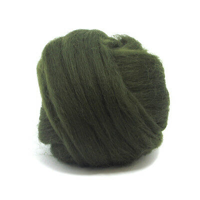 50g DYED MERINO WOOL TOP JONQUIL YELLOW DREADS 64/'s SPINNING FELTING ROVING