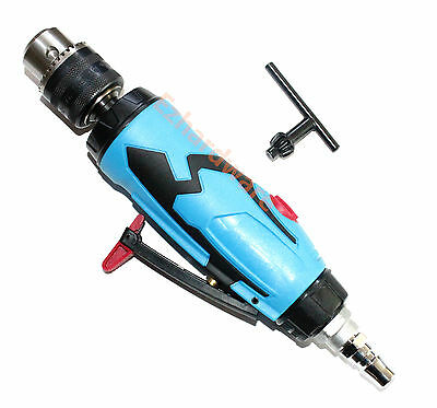 """3/8"""" IN Line Non-Reversible Air Drill Quality Air Tools"""