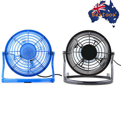 Notebook Laptop Computer Portable Super Mute USB Cooler Desk Mini Fan LN