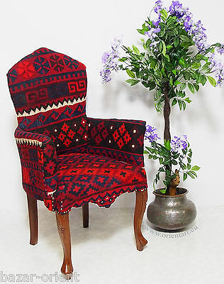 orient kelim stuhl Polsterstuhl Sessel sofa couch kilim chair from Afghanistan