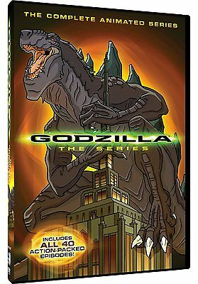 GODZILLA : THE COMPLETE ANIMATED SERIES (40 episodes)-  DVD - REGION 1 - Sealed