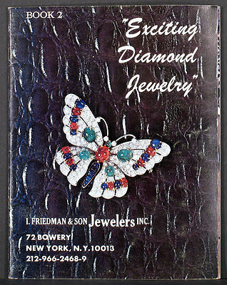1974 I. FRIEDMAN & SON JEWELERS 48 page catalog of gold diamonds gemstones etc.