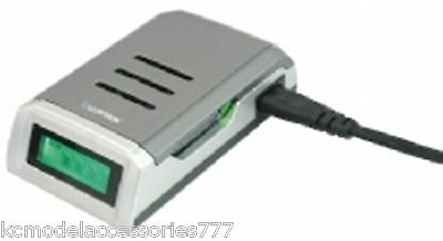Fast Lloytron Battery Charger NiMH or Akaline AA AAA Intelligent Charges x 10