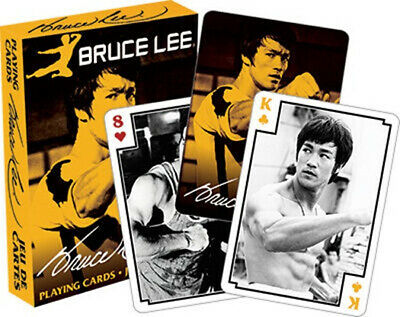 Bruce Lee Yellow Deck Photo Illustrated Playing Cards 2016 Release, NEW UNUSED