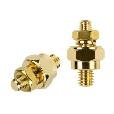 1 Piece Raptor R4SP Gold Plated GM Battery Short Side Post Terminal Adapter