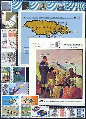 Venezuela Full Complete Year 1979 MNH Año Completo # 1193 to 1222