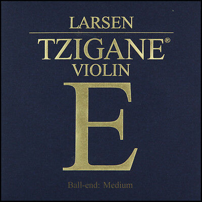 Larsen Tzigane Violin E String (Ball End) Medium Tension 4/4 Full Size