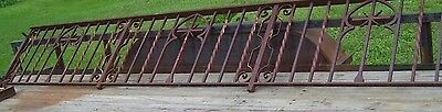 Black Cast Iron Wrought Iron Railing Church for Pulpit/Podium front of church