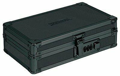Black Hard Shelled locking Art Supply Pencil Valuable Document Utility Box Case