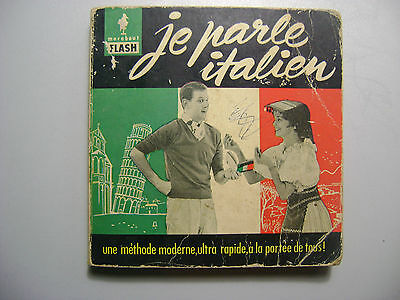 """collectif """"Je Parle Italien"""" Marabout Flash n°22 1959"""