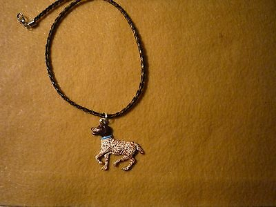 German Shorthaired Pointer Dog Necklace