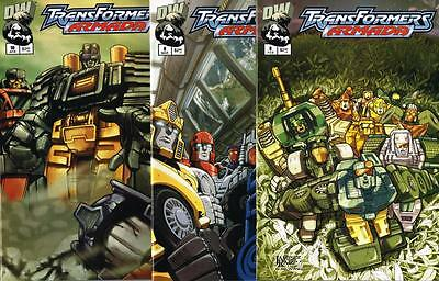 3 issues of Transformers Armada - Issue # 8, 9, 10 - Dreamwave - NM (1447)